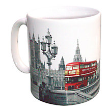 Buy Red Bus Mug Online at johnlewis.com