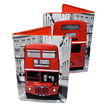 Buy Bus Print Card Wallet, Multi Online at johnlewis.com
