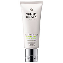 Buy Molton Brown Coco & Sandalwood Replenishing Hand Cream, 40ml Online at johnlewis.com