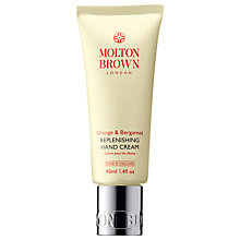 Buy Molton Brown Orange & Bergamot Replenishing Hand Cream, 40ml Online at johnlewis.com