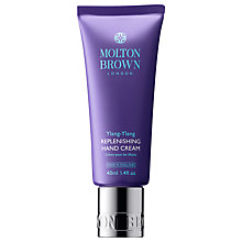 Buy Molton Brown Ylang Ylang Replenishing Hand Cream, 40ml Online at johnlewis.com
