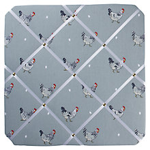 Buy Sophie Allport Chicken Notice Board, Multi Online at johnlewis.com