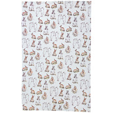 Buy Stefanie Pisani Rabbit Print Tea Towel Online at johnlewis.com