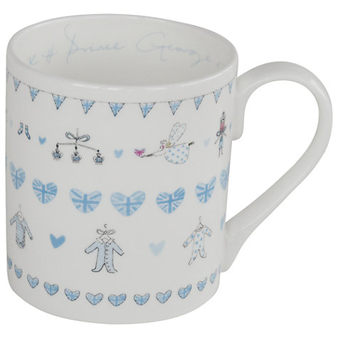 Buy Sophie Allport Royal Baby Mug Online at johnlewis.com