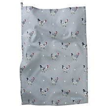 Buy Sophie Allport Chicken Tea Towel, Multi Online at johnlewis.com