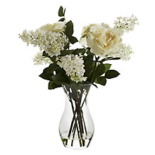 Buy Peony Sophia Rose And Lilac In Vase, Multi Online at johnlewis.com