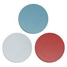 Buy House By John Lewis Round Coaster Set, Multi Online at johnlewis.com