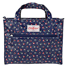 Buy Cath Kidston Elgin Ditsy Floral Print Box Bag, Blue Online at johnlewis.com
