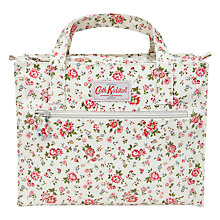 Buy Cath Kidston Bramley Print Box Bag, Cream Online at johnlewis.com
