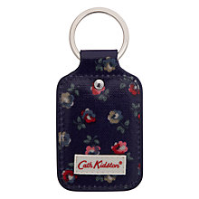 Buy Cath Kidston Elgin Ditsy Print Key Fob, Royal Blue Online at johnlewis.com