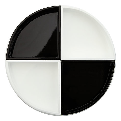 Buy House by John Lewis Round Tray, 4 Compartments Online at johnlewis.com