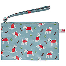 Buy Cath Kidston Stanley Dog Print Zip Purse, Blue Online at johnlewis.com