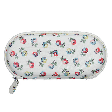 Buy Cath Kidston Elgin Ditsy Print Glasses Case Elgin, Cream Online at johnlewis.com