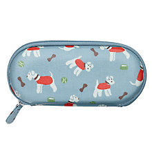 Buy Cath Kidston Stanley Dog Print Glasses Case, Blue Online at johnlewis.com