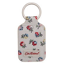Buy Cath Kidston Elgin Ditsy Print Key Fob, Cream Online at johnlewis.com