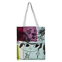 Buy John Lewis Loewy Lady Shopper Bag, Multi Online at johnlewis.com