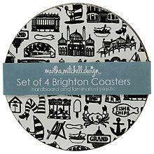 Buy Martha Mitchell Brighton Coasters, Set of 4 Online at johnlewis.com