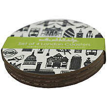 Buy Martha Mitchell London Coasters, Set of 4 Online at johnlewis.com