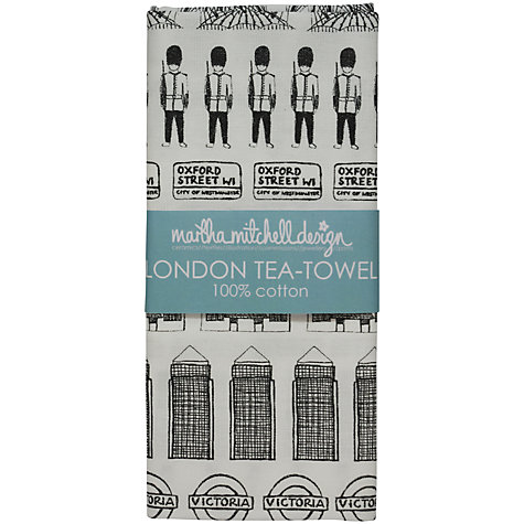 Buy Martha Mitchell London Tea Towel Online at johnlewis.com