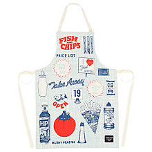 Buy Gillian Kyle Fish and Chips Apron Online at johnlewis.com