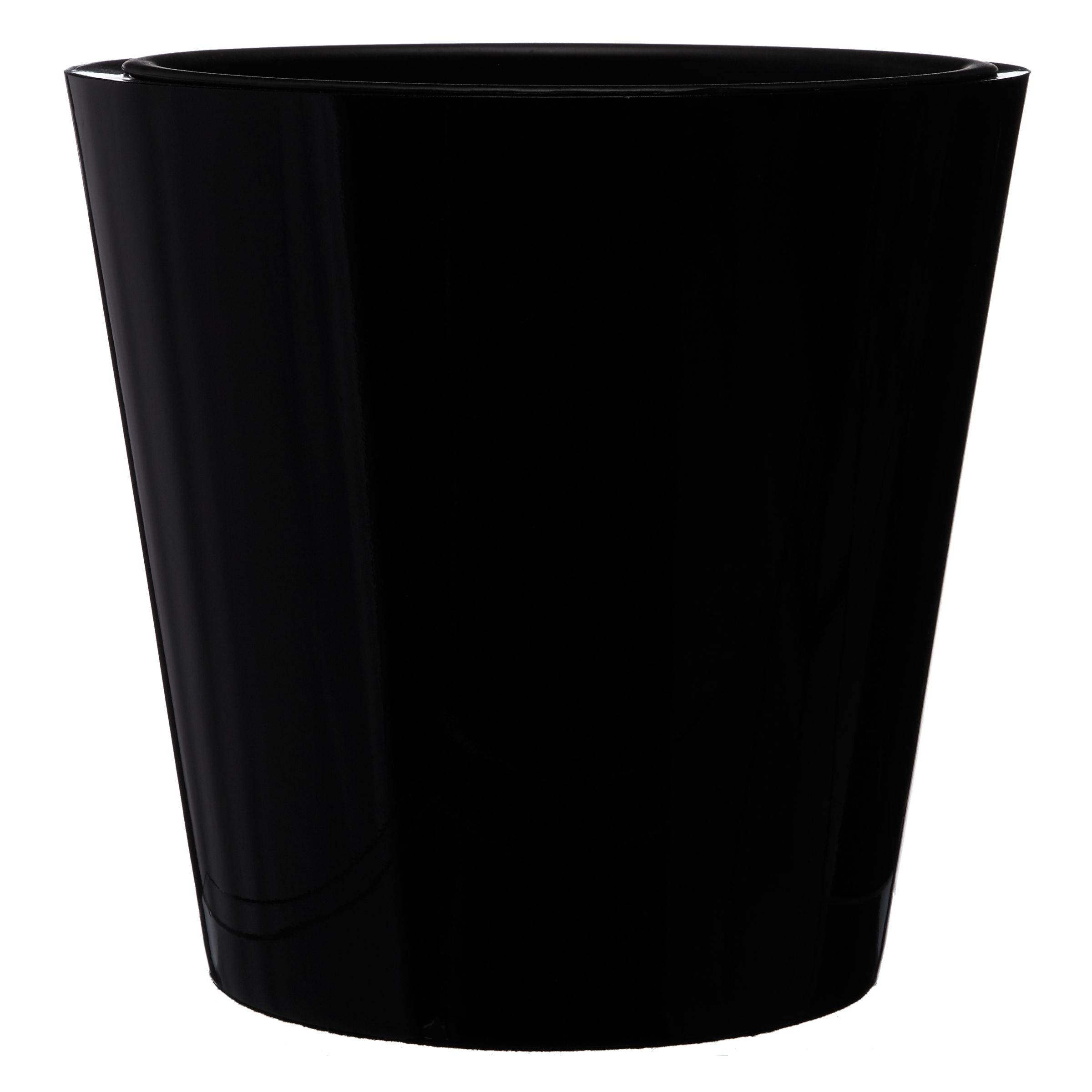 House by John Lewis Plant Pot, Black, Large