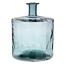 Buy John Lewis Croft Collection Recycled Glass Vase, Blue, Height 45cm Online at johnlewis.com