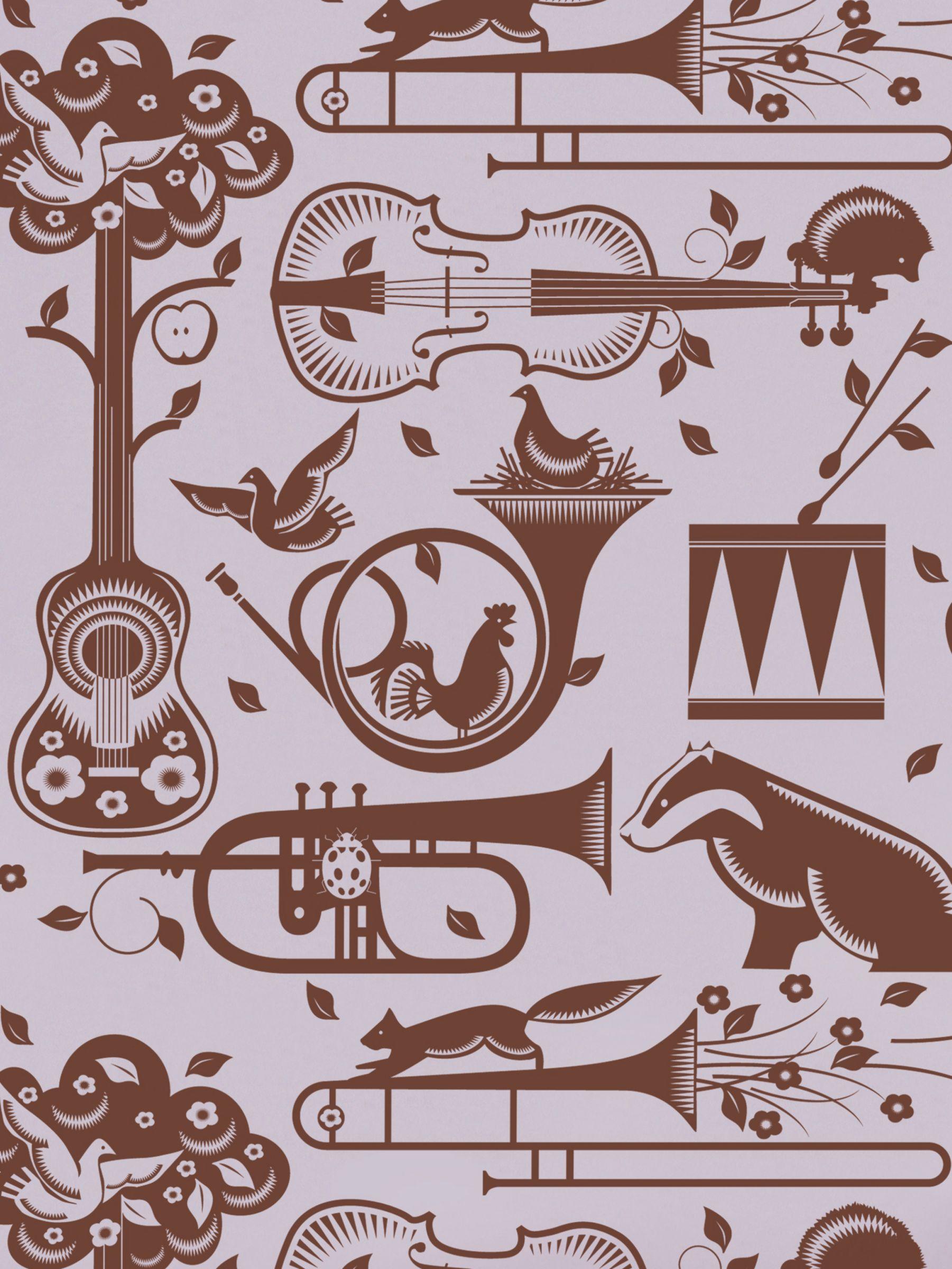 Mini Moderns Mini Moderns Pet Sounds Wallpaper