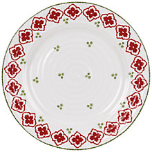 Buy Sophie Conran for Portmeirion Christmas Candy Cane Side Plate, Dia.21cm Online at johnlewis.com