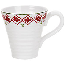 Buy Sophie Conran for Portmeirion Christmas Candy Cane Mug, 0.35L Online at johnlewis.com