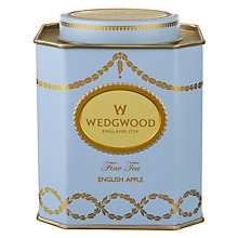 Buy Wedgwood English Apple Tea Caddy Online at johnlewis.com
