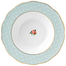 Buy Royal Albert Polka Rose Cereal Bowl Online at johnlewis.com