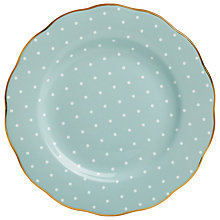 Buy Royal Albert Polka Rose Dessert Plate Online at johnlewis.com