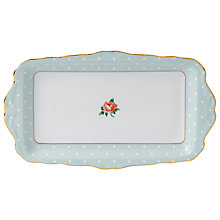 Buy Royal Albert Polka Rose Sandwich Tray Online at johnlewis.com