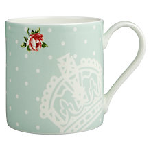 Buy Royal Albert Polka Rose Mug Online at johnlewis.com