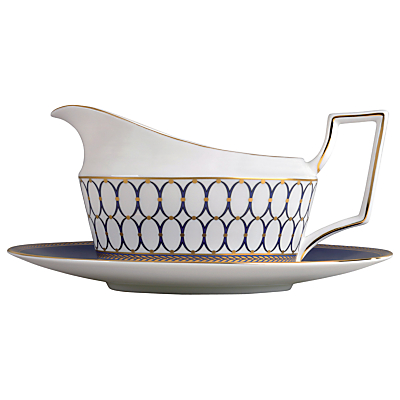Wedgwood Renaissance Sauce Boat and Stand