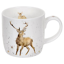 Buy Portmeirion Wrendale Wild at Heart Mug, 0.31L Online at johnlewis.com