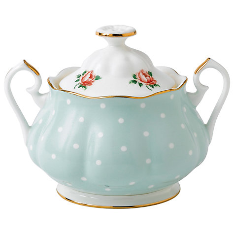 Buy Royal Albert Polka Rose Sugar Bowl Online at johnlewis.com