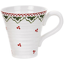 Buy Sophie Conran for Portmeirion Christmas Sugar Fairy Mug, 0.35L Online at johnlewis.com