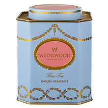 Buy Wedgwood English Breakfast Tea Caddy Online at johnlewis.com