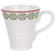 Buy Sophie Conran for Portmeirion Christmas Snowflake Mug, 0.35L Online at johnlewis.com