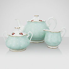 Buy Royal Albert Polka Rose Tea Set Online at johnlewis.com