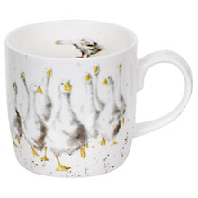 Buy Portmeirion Wrendale Goosie Goose Mug Online at johnlewis.com