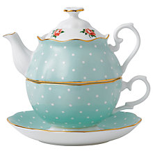 Buy Royal Albert Polka Rose Tea for One Set Online at johnlewis.com