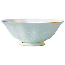 Buy Royal Albert Polka Rose Salad Bowl Online at johnlewis.com