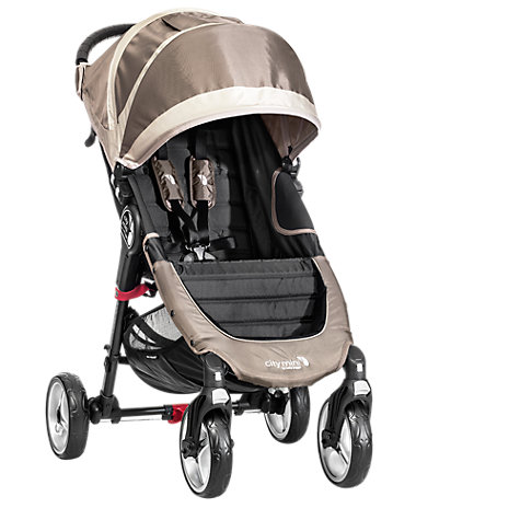 Buy Baby Jogger City Mini 4-Wheel Pushchair, Sand/Stone Online at johnlewis.com