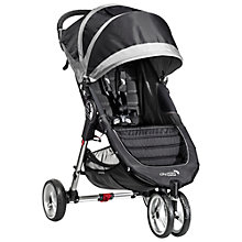 Buy Baby Jogger City Mini 3 Wheeler 2014, Black/Grey Online at johnlewis.com