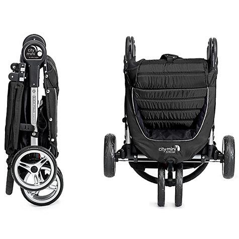 Buy Baby Jogger City Mini 3 Wheel Pushchair Black Grey