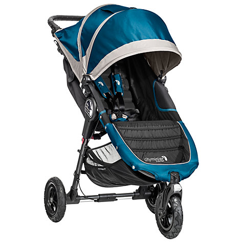Buy Baby Jogger 2014 City Mini GT Pushchair, Teal/Grey Online at johnlewis.com