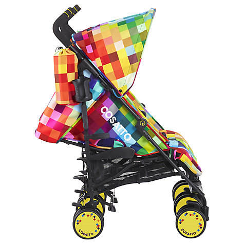 Buy Cosatto Supa Dupa Twin Pushchair, Pixelate Online at johnlewis.com