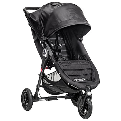 Buy Baby Jogger 2014 City Mini GT Pushchair, Black Online at johnlewis.com